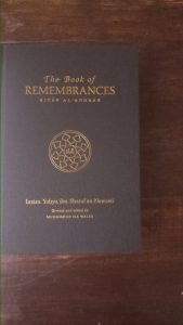 Nawawi Remembrance inside cover